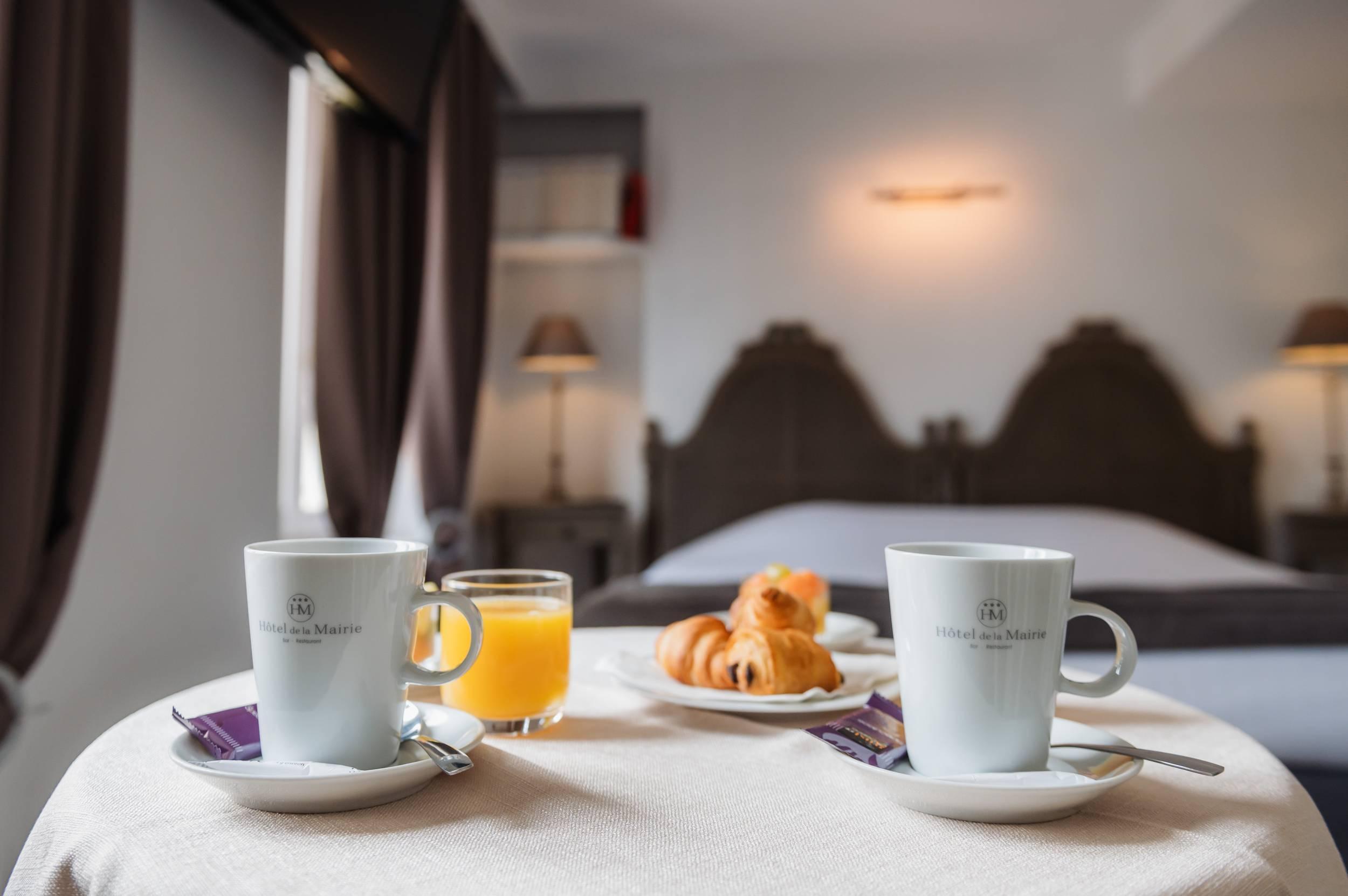 room service petit déjeuner